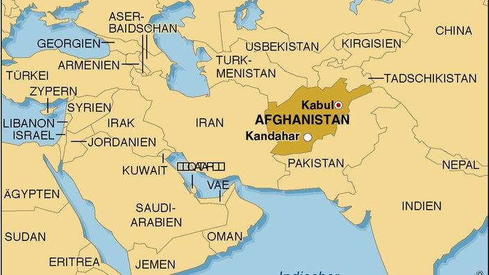 Naher und Mittlerer Osten: Afghanistan - Naher und Mittlerer ...