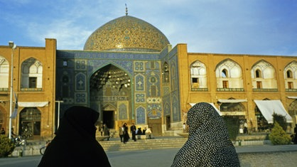 Die Lotfollah-Moschee in Isfahan, Iran