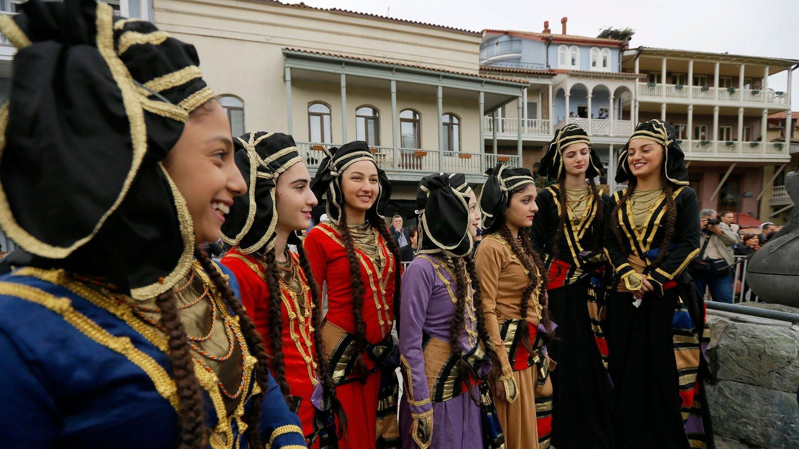 Kaukasus Menschen