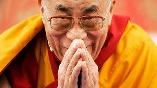 Bild des XIV. Dalai Lama.