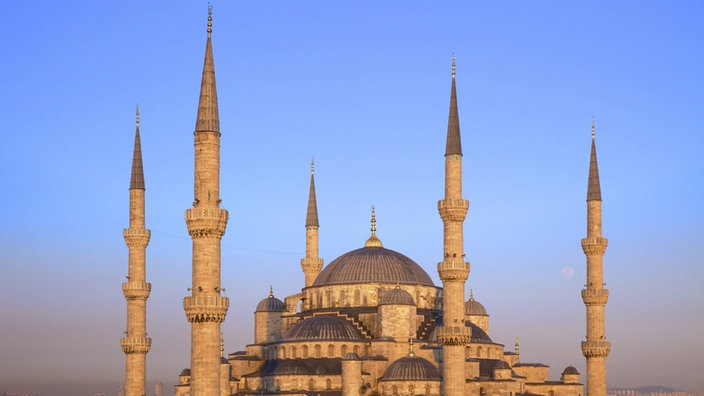 Sultan-Ahmed-Moschee in Instanbul.