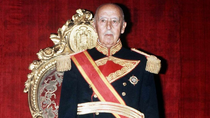 General Franco in Uniform.