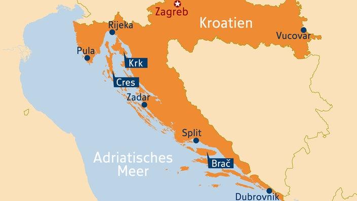 Jugoslawien Karte Früher.Südosteuropa Kroatien Südosteuropa Kultur Planet Wissen