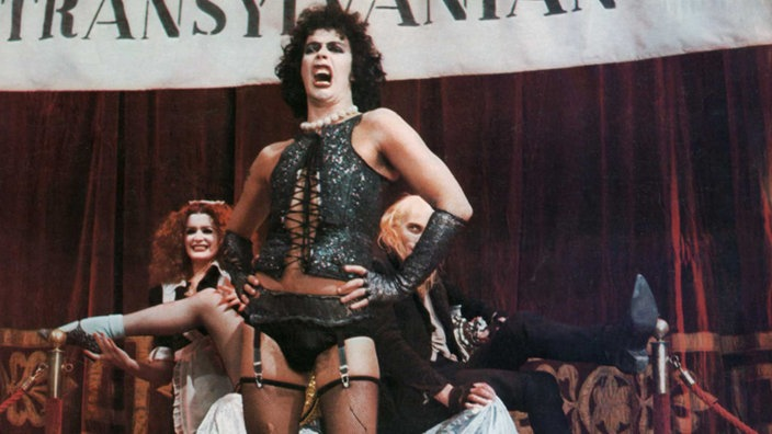 Tim Curry als Frank'n'Furter