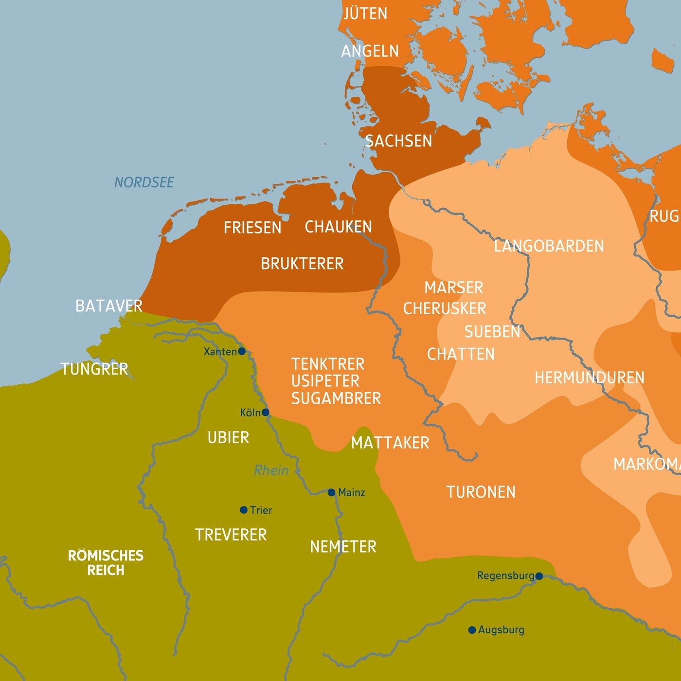 Volker Germanische Stamme Volker Kultur Planet Wissen