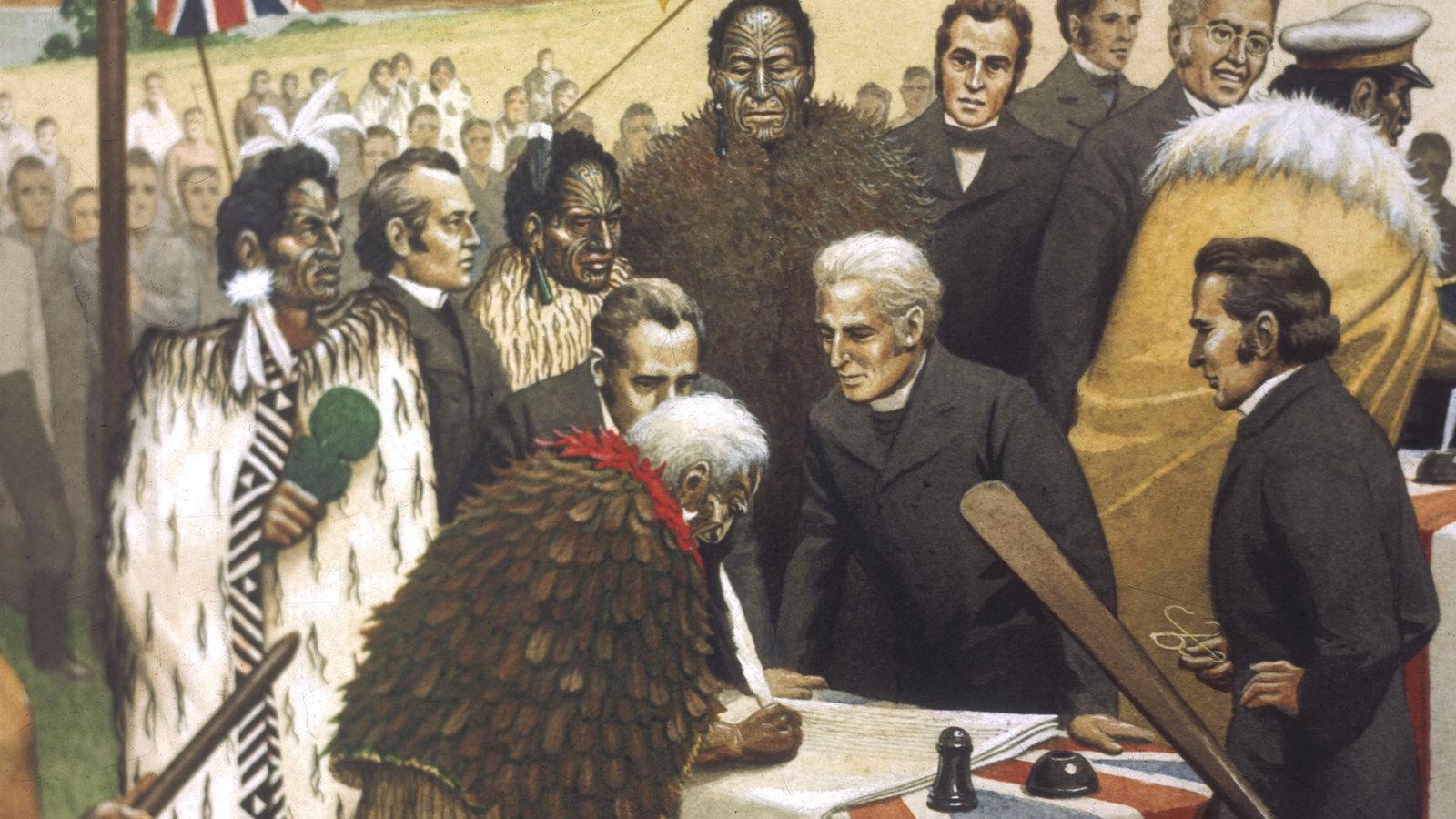 Maori: Der Vertrag von Waitangi - Völker - Kultur - Planet