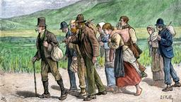 Bildergebnis für Irische auswanderung