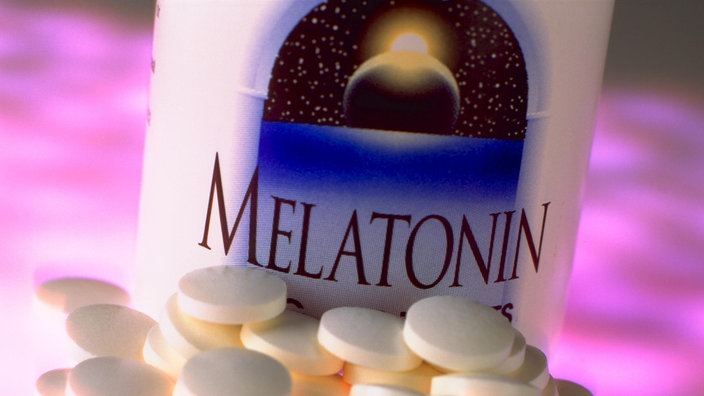 Das Hormon Melatonin in Tablettenform