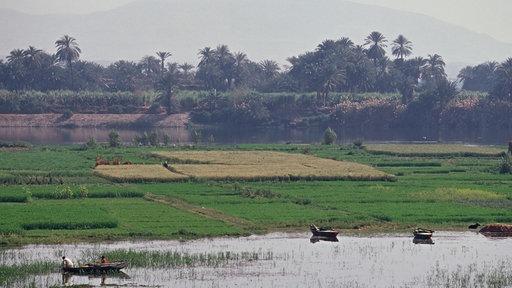 Nil nilometer nil fl sse und seen natur planet wissen for Der die das boden