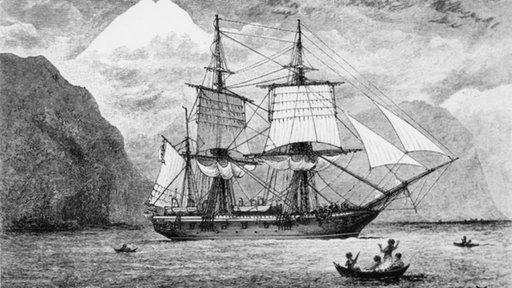 Charles Darwin Reise
