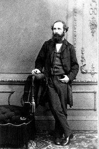 Der Physiker James Clerk Maxwell.