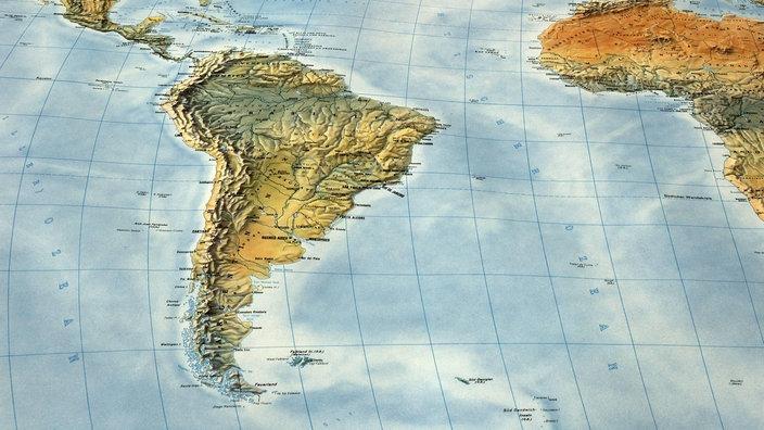 Lateinamerika Karte Gebirge.Gebirge Anden Anden Gebirge Natur Planet Wissen