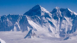 Bergmassiv des Mount Everest.
