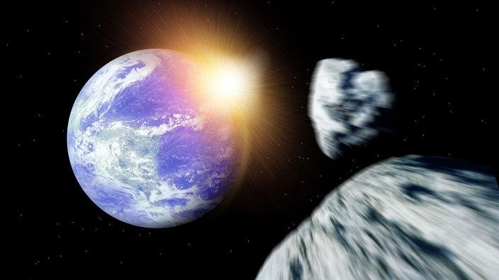 Weltall Asteroiden Weltall Natur Planet Wissen