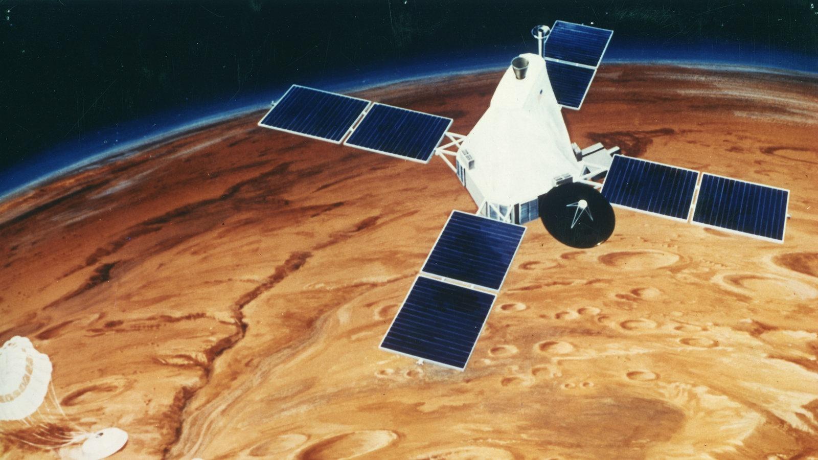 Mars Missionen Weltall Natur Planet Wissen