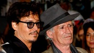 Keith Richards und Johnny Depp in 2011