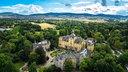 Luftaufnahme von Schloss Bückeburg