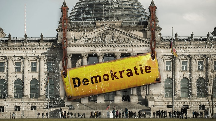 Demokratie in Not