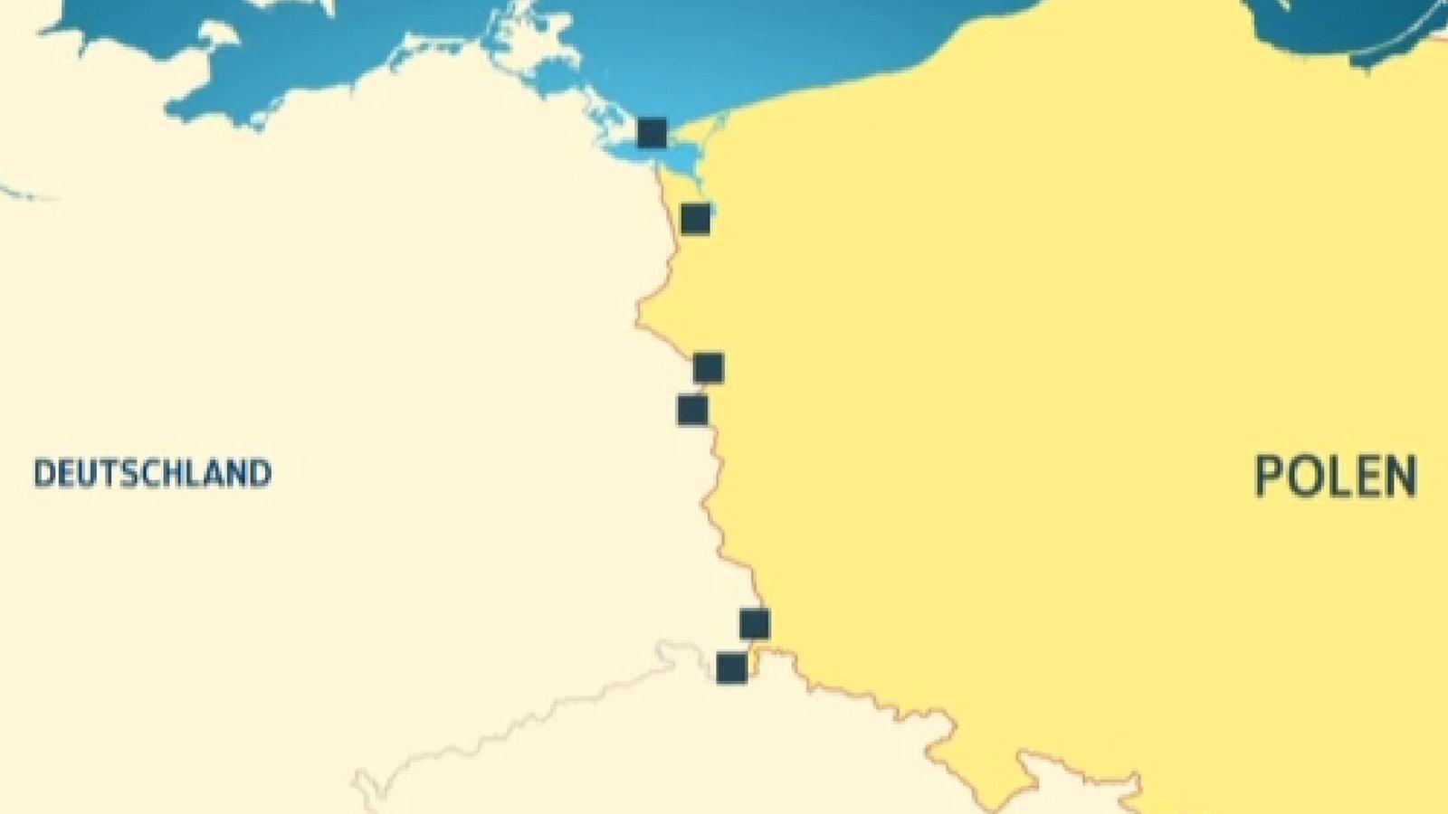 Polen Karte 2019.Deutsch Polnische Grenze