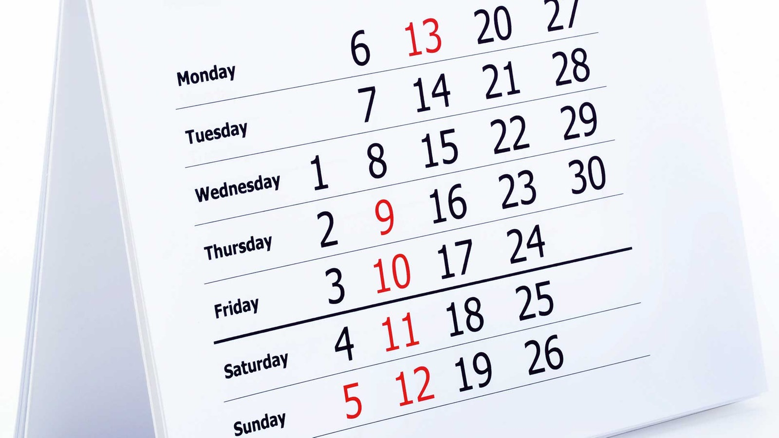 Ordnungssysteme: Kalender - Ordnungssysteme - Gesellschaft - Planet ...
