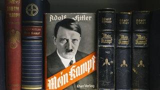 """Verschiedene Ausgaben von """"Mein Kampf"""""""