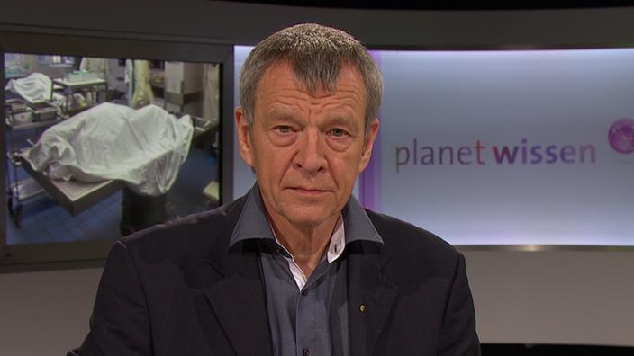 Zu Gast: Klaus Püschel - Sendungen - Planet Wissen