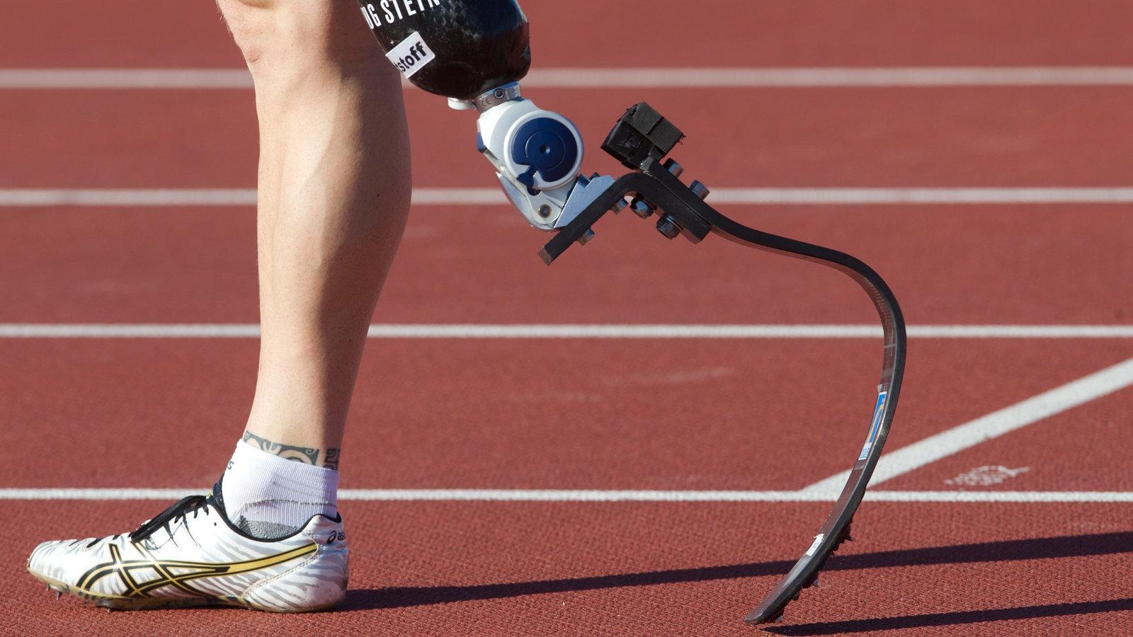 beinprothesen im sport