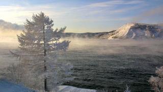 Sibirien im Winter