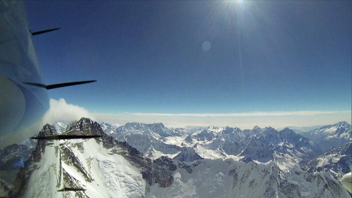 Klaus Ohlmann Rekordflug Mount Everest