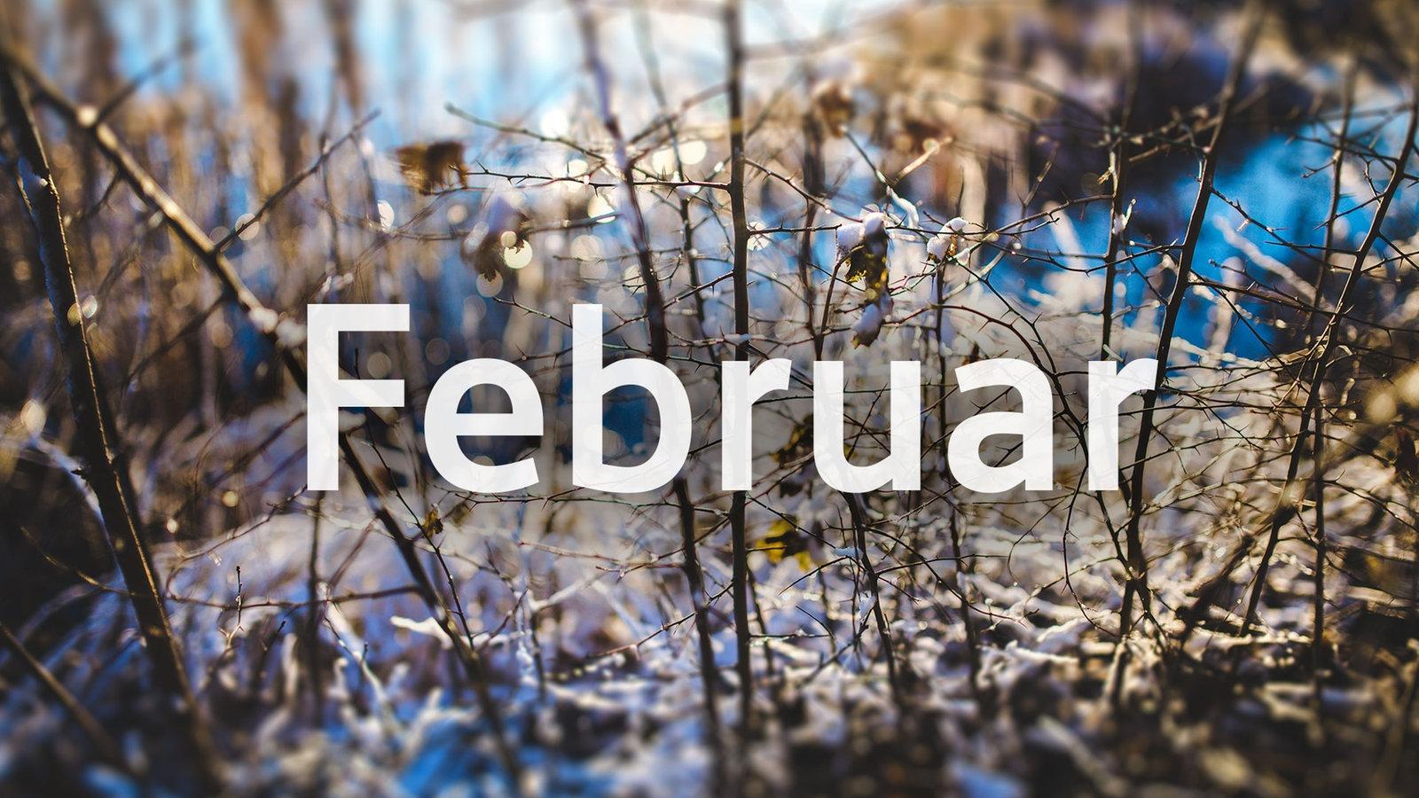 Februar Bild