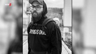 Schwarzweißbild des Bloggers Felix Schenk