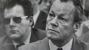 Willy Brandt und der DDR-Spion Günter Guillaume
