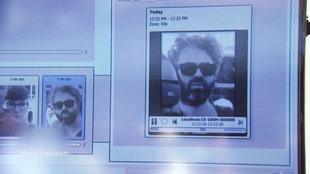 Personenidentifizierung am Bildschirm