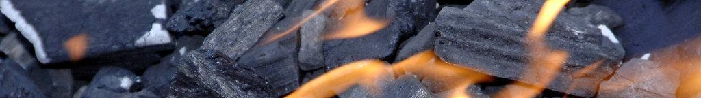 Steinkohle, die brennt