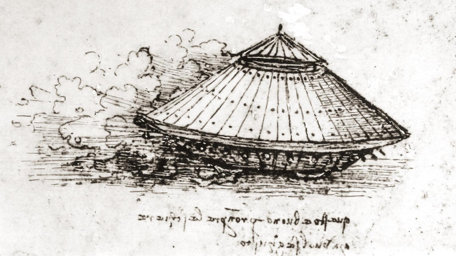 Erfinder Leonardo Da Vinci Erfindungen Technik