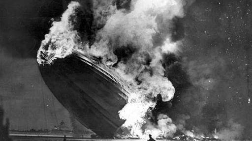 absturzort des zeppelin hindenburg