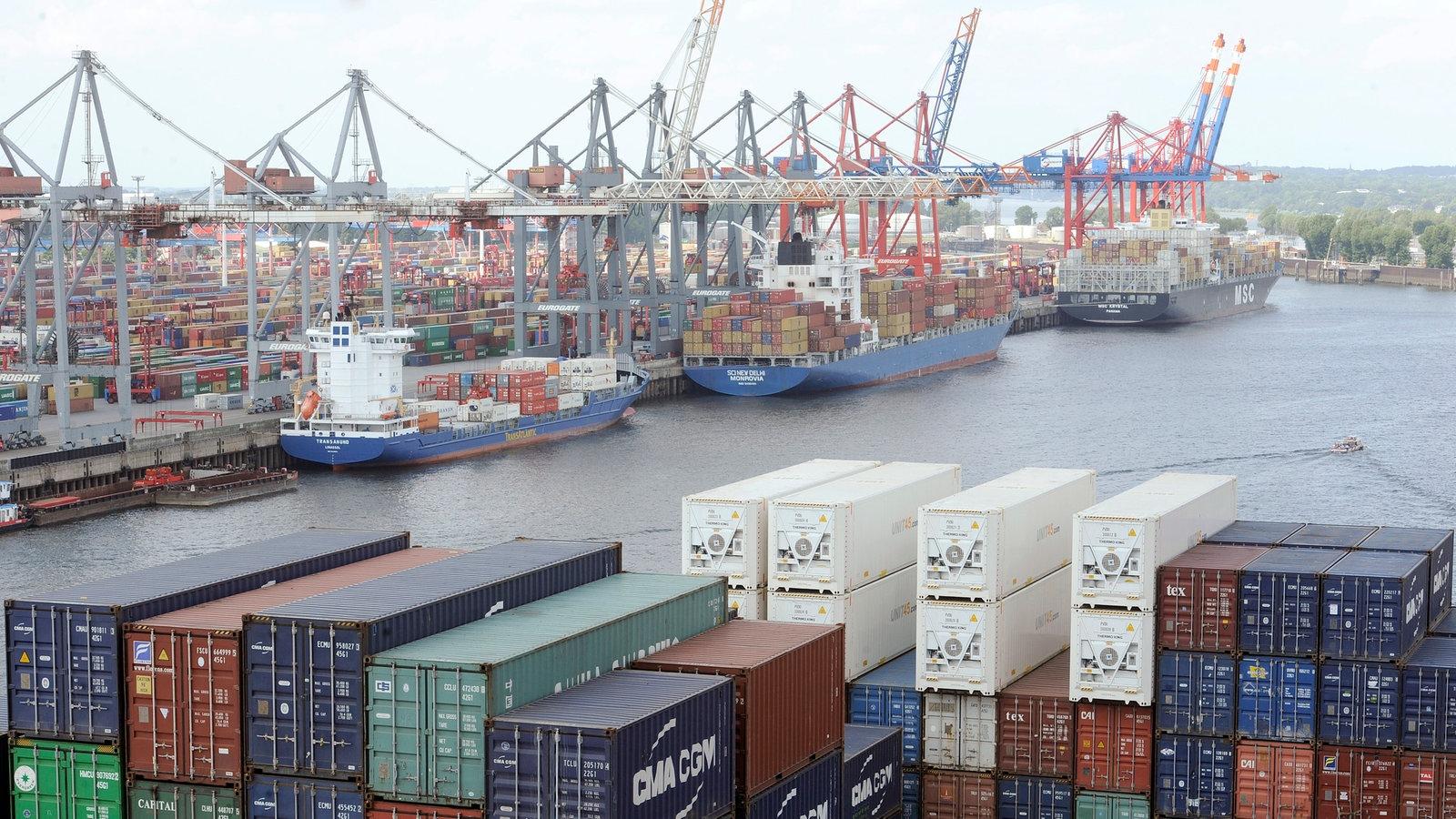 Schifffahrt: Hamburger Hafen - Schifffahrt - Technik