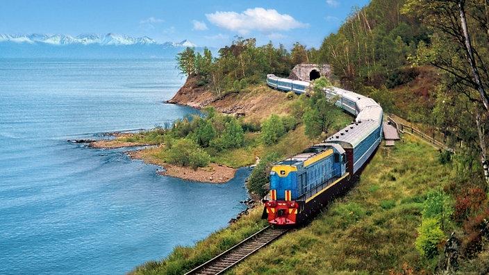Eisenbahn: Transsibirische Eisenbahn - Verkehr - Technik ...
