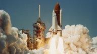 Start der Challenger Rakete 1986.