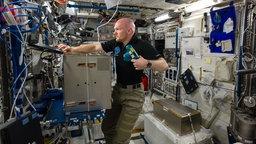 Alexander Gerst auf der ISS.