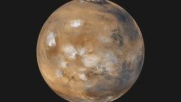 Bildaufnahme von Mars.