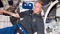 Thomas Reiter in der ISS.
