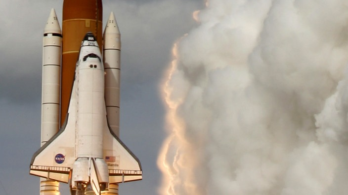 Space Shuttle Atlantis beim Start