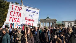 TTIP Grossdemonstration in Berlin.
